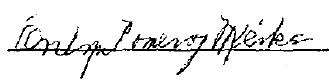 Evelyn (Pomeroy) Mierke's Signature